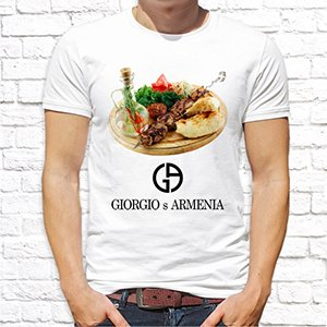 "Футболка ""Giorgio Armenia"""