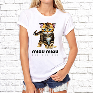 "Футболка ""Miau Miau"""
