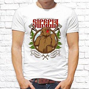 """Футболка """"SIBERIA.Закон.Тайга"""""""