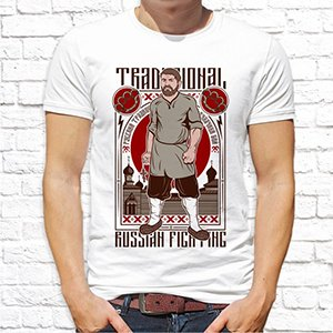 "Футболка ""Traditional Russian Fighting"""