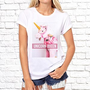 "Футболка ""Unicorn queen"""