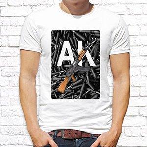 """Фото футболки """"AK"""""""
